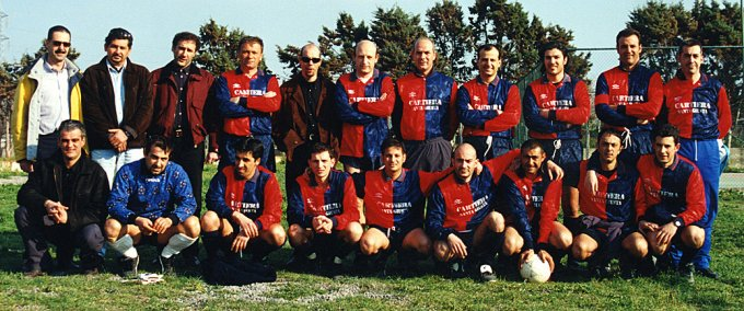 AM.PI.SP.OR. Calcio · Oristano anni novanta