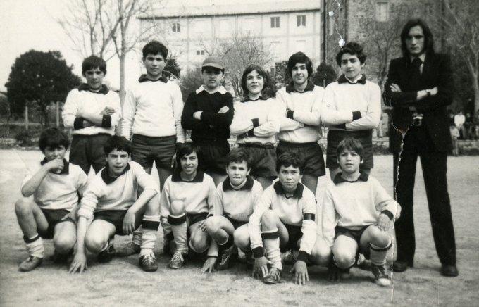 Aristano Calcio inizi anni settanta