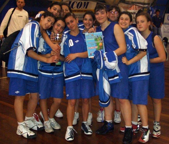 Azzurra Basket Oristano - Cagliari 2007