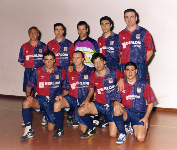 Berloni Calcetto · Oristano fine anni novanta