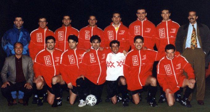 Calcetto Club Oristano degli anni novanta