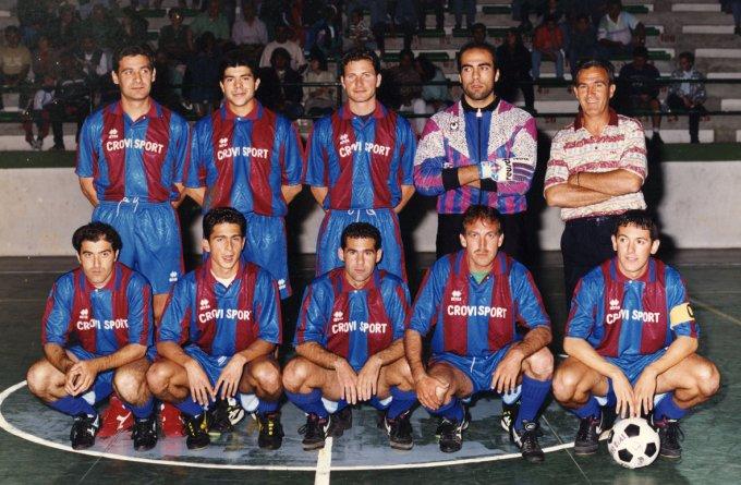 Crovi Calcetto · anni novanta
