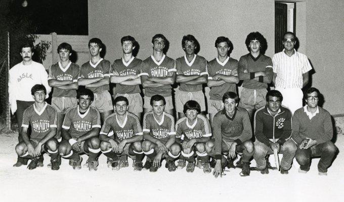 Dimauto Calcio anni ottanta