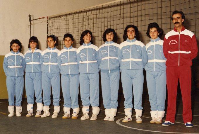 Libertas Pallavolo · Oristano inizi anni '80