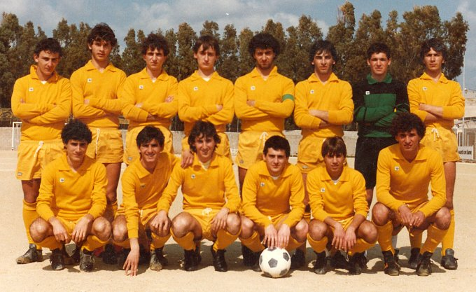 Oristanese Under 20 · Cabras 1984