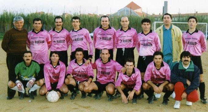 Riello Calcio · Oristano anni novanta