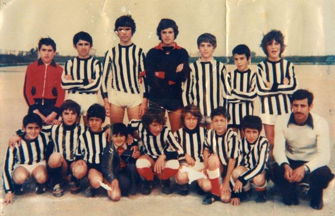 San Paolo Calcio · Oristano primi anni settanta