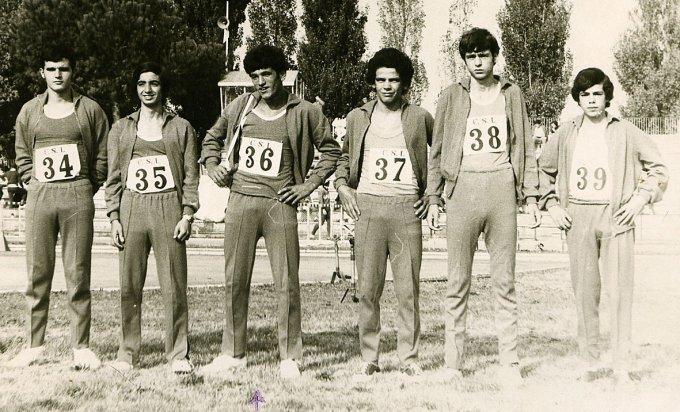 Atletica CSI · Oristano 1971