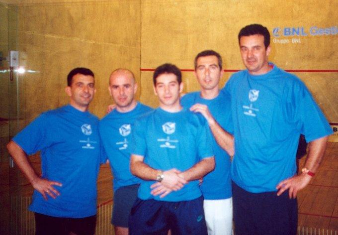 Squash Oristano 2001