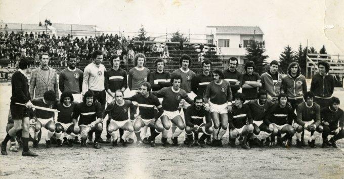 Tharros contro Brasile! - anni settanta