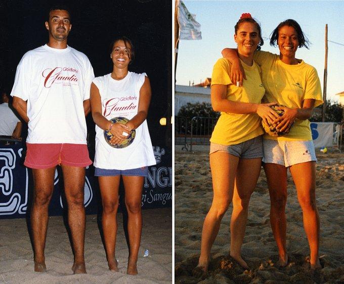 Beach Volley 2×2 · Torre Grande anni novanta