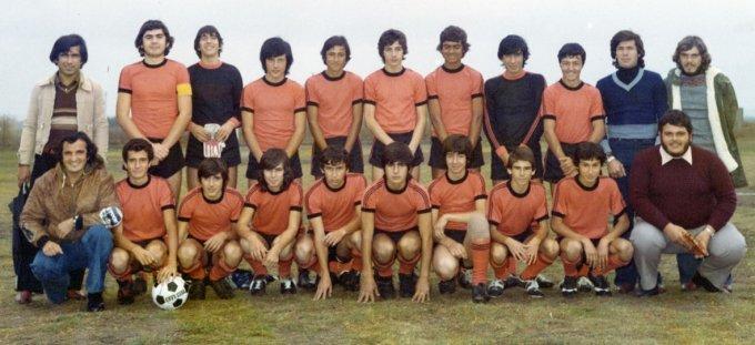 Amsicora Calcio Allievi · Oristano 1976