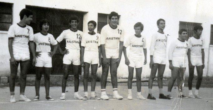 Aristana Pallavolo · Oristano 1973