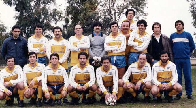 Artigiani Calcio · Oristano anni ottanta