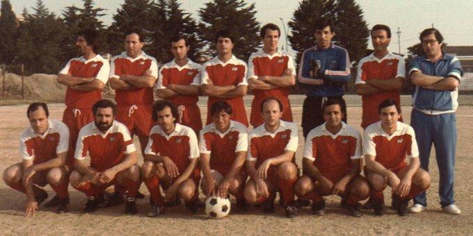 Banco di Sardegna Calcio · Oristano anni ottanta