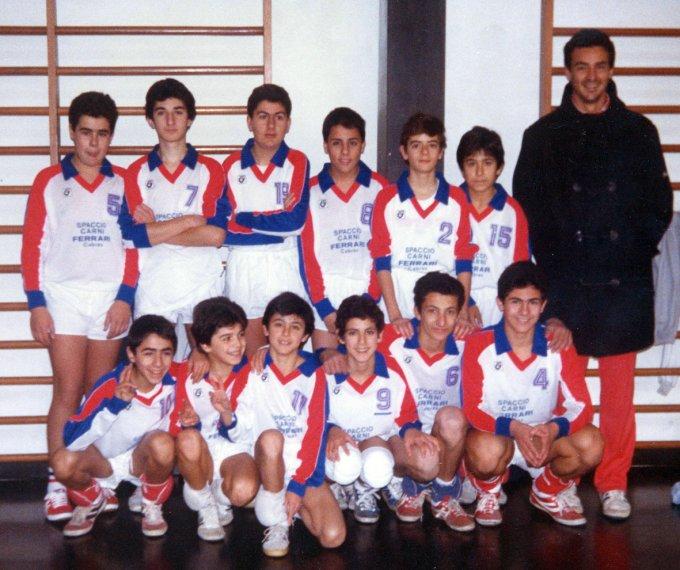 Città di Oristano Pallavolo Allievi · 1986