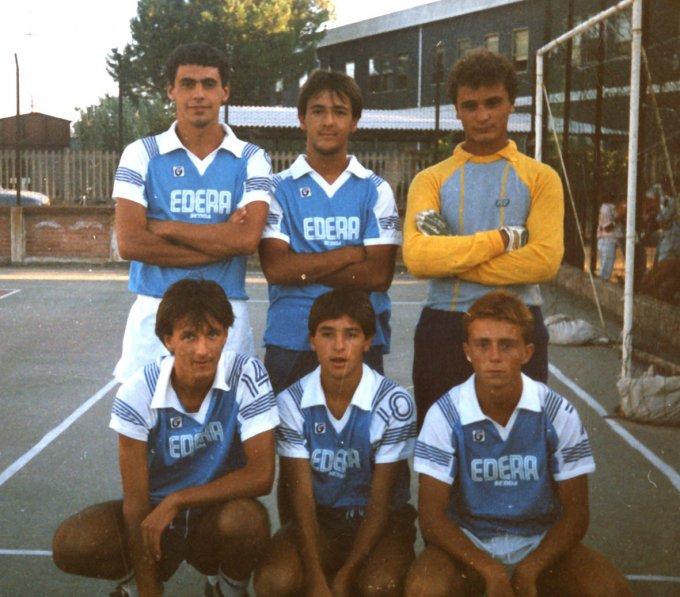 Edera Calcetto · Oristano 1986
