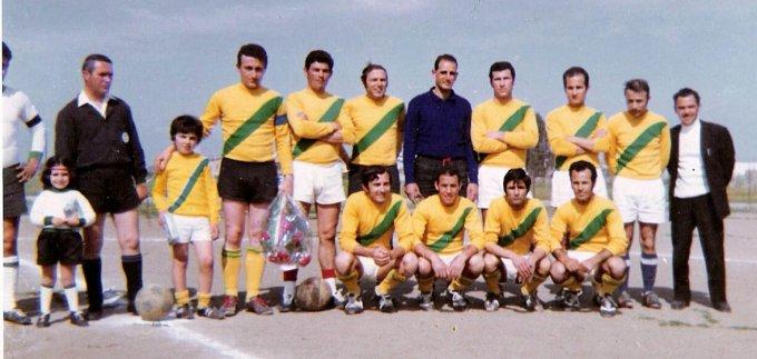 Etfas Calcio · Oristano anni 70