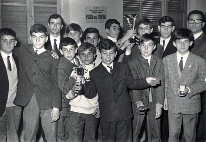 U.S. Fiamma Calcio · Oristano 1968