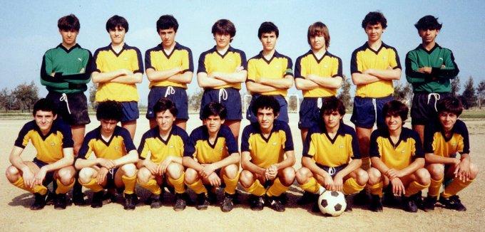 Folgore Calcio Allievi · Oristano 1982