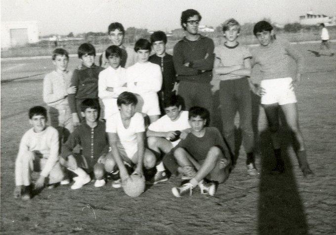 Folgore Calcio · Oristano fine anni sessanta