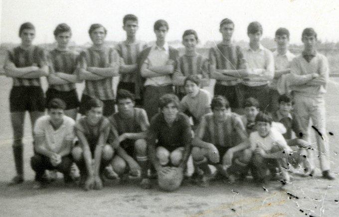 Folgore Juniores · Oristano anni sessanta
