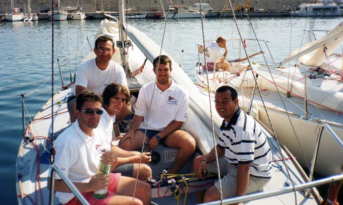 L'Armadillo J24 · Oristano 2002