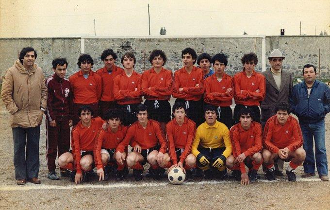 Marrubiu Calcio Allievi · 1980