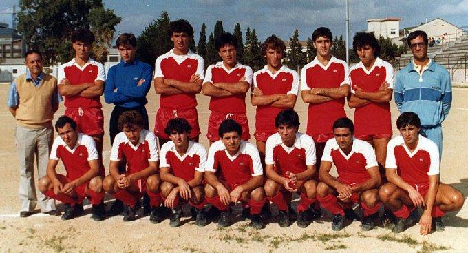 Oristanese Calcio - Campo Tharros 1984