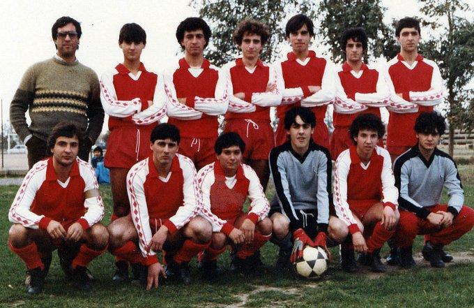 Oristanese Calcio Under 20 · anni ottanta