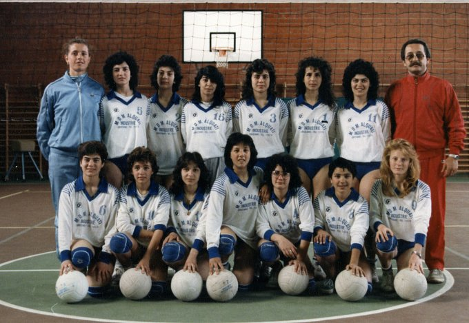 Volley Monte Arci · Palmas Arborea 1985