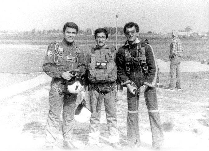 Paracadutismo · Oristano fine anni settanta