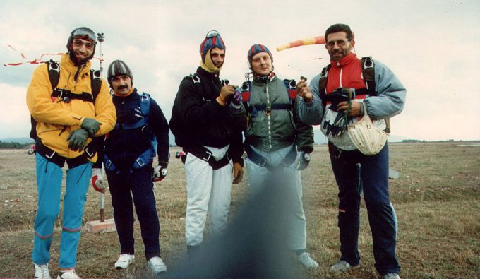 Paracadutismo · Oristano anni ottanta