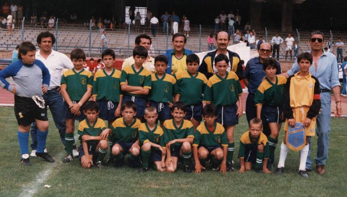 PGS Arborea Giovanissimi · Cagliari anni ottanta