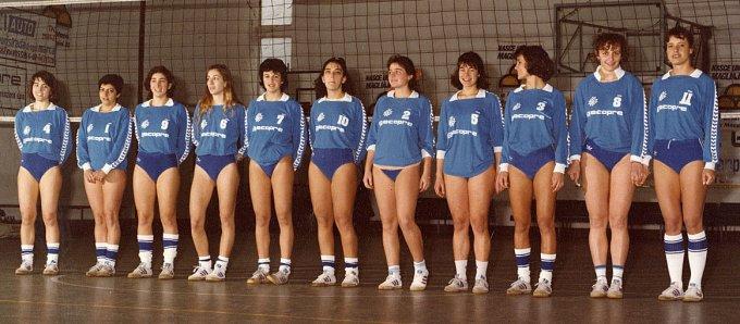 San Domenico Pallavolo · Oristano 1986