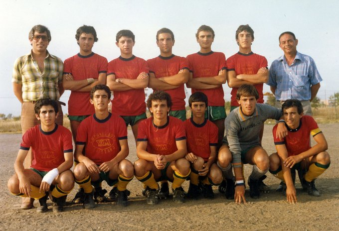 San Paolo Allievi · Oristano 1977