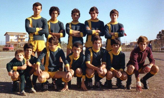 San Paolo Allievi CSI · Oristano 1976