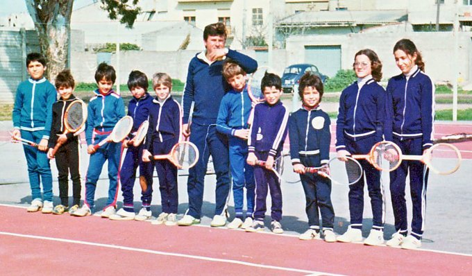 TC 70 Oristano · Scuola di addestramento 1975