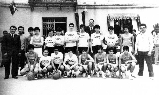 Giochi della Gioventù Basket · Oristano 1969