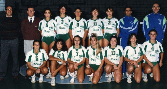 SMAL Pallavolo · Oristano anni novanta