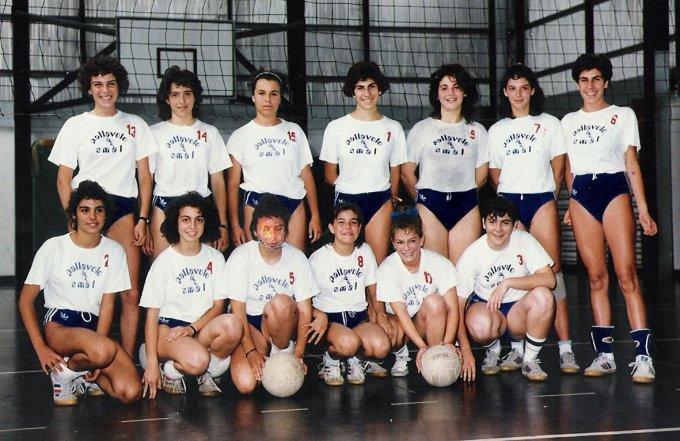 SMAL Pallavolo Serie D · Oristano 1986