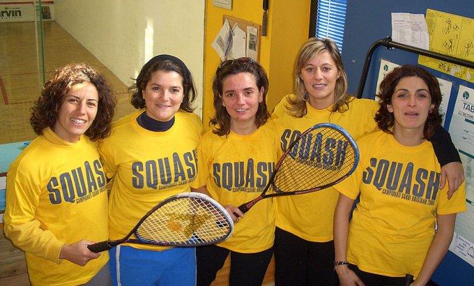 Squash Femminile 2005