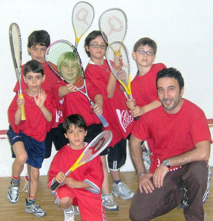 Squash Pulcini · Oristano 2007