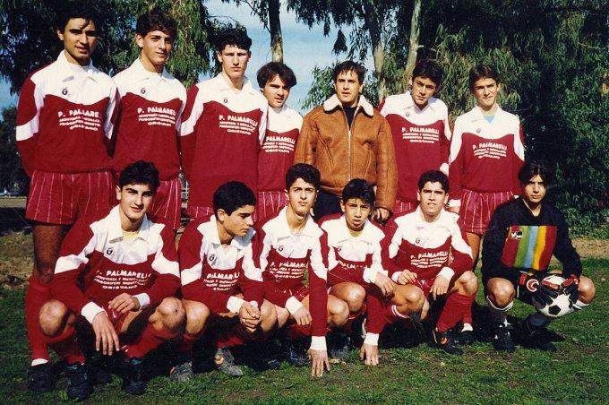 Tharros Allievi · Oristano 1990