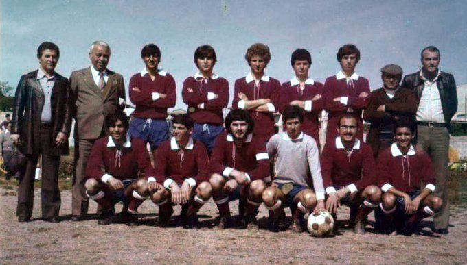 Tharros Juniores · Oristano 1974
