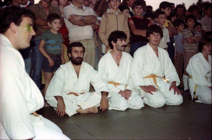 Tzunami Judo di Oristano · anni ottanta