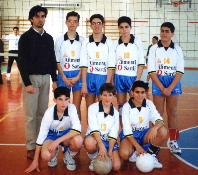 Circolo Volley Birds Pallavolo · Mogoro anni novanta