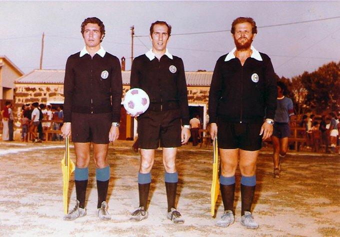 Arbitri a Ghilarza - Luglio 1975