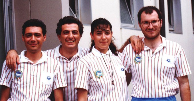 Arbitri Nazionali di Pallavolo · 1990
