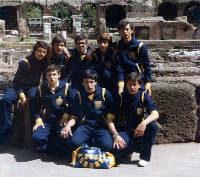 PGS Arborea Pallavolo · Roma 1979
